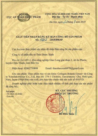 ban cong bo san pham collagen