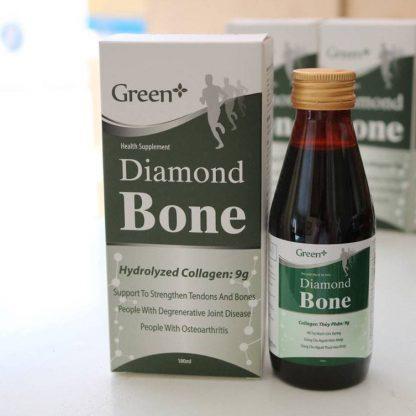 diamond bone green+